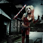 Harley Quinn Shermie Cosplay Joker Says Wear A Smile To Work By Sweet Little World