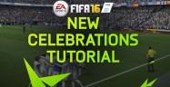 How To Unlock FIFA 16 Celebrations