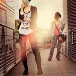 Life Is Strange Cosplay Max and Chloe Walkway