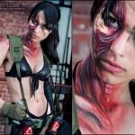 Quiet Cosplay Metal Gear Solid 5 Closeup Starring Angela Bermudez by Kristian Rocha Photography