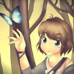 Life Is Strange Fanart Max Cartoon Butterfly by Sadvi