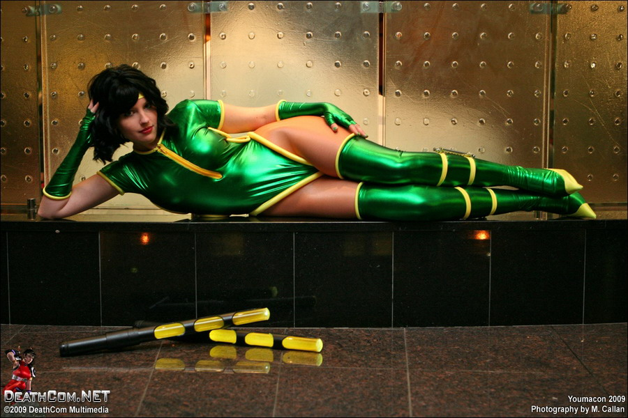 Orchid Cosplay Killer Instinct Rest and Relaxation Starring Naosa by M Callan and Youmacon and Deathcom Media