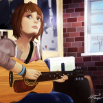 Life is Strange Fanart Max Music Is My Life by Charizardluver
