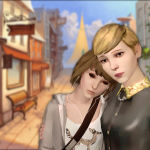 Life Is Strange Fanart Max and Victoria by nses117