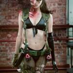 Quiet Cosplay Metal Gear Solid 5 Full Body Shot Starring Angela Bermudez by Kristian Rocha Photography