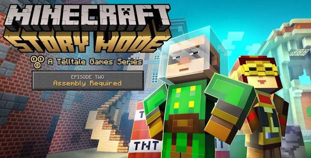 Minecraft: Story Mode Episode 2 Walkthrough