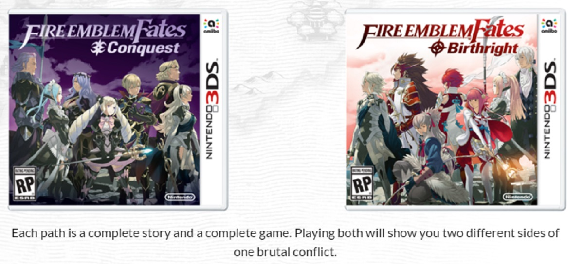 Fire Emblem Fates Birthright Conquest Revelation Release Date - Fire emblem fates map pack 3 us