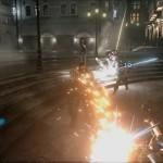 Final Fantasy VII Remake Barret Wallace Battle Screenshot