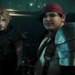 Final Fantasy VII Remake Cloud Strife and Wedge Screenshot