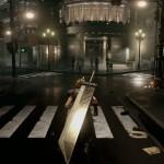 Final Fantasy VII Remake Cloud Strife City Screenshot