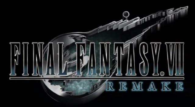 Final Fantasy VII Remake Logo Official PS4