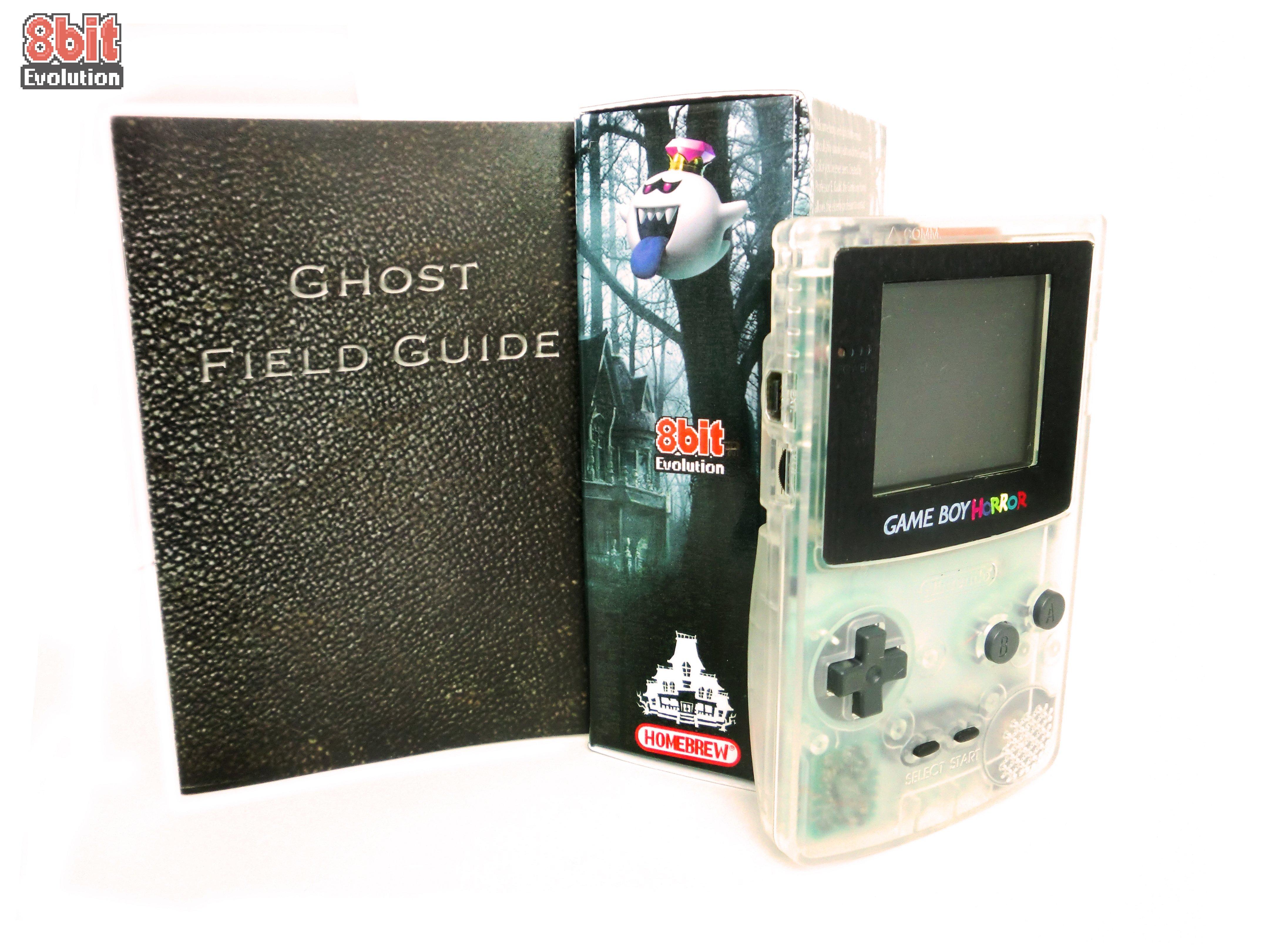 Game boy color kaufen - Game Boy Horror Game Boy Color System By 8bit Evolution Luigis Mansion Unofficial Collectors Item