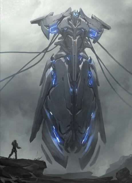 Halo 5 Concept Art Kory Hubbel Scifi