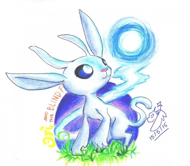 Ori and the Blind Forest Sketch Fanart by Winged Dragoness Deviantart