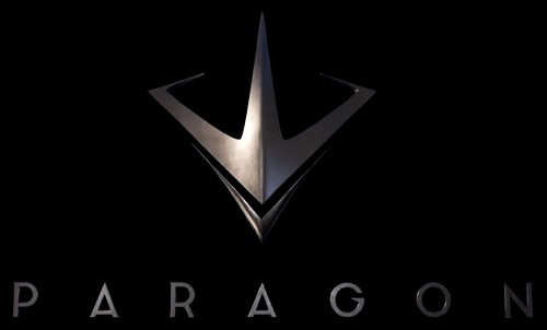 Paragon Logo Artwork PS4 PC Epic Games Free to Play MOBA Hero Shooter