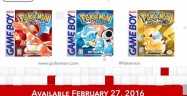 Pokemon Red Blue Yellow 3DS Release Date eShop Box Artwork