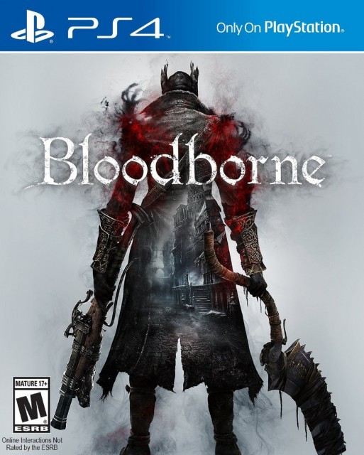 PS4 Bloodborne USA Box Artwork M For Mature
