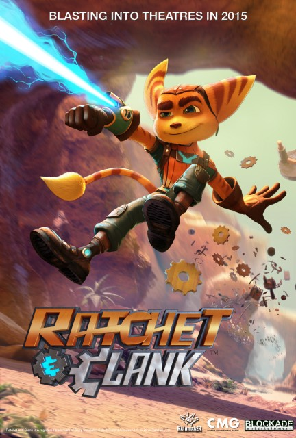 Ratchet & Clank Movie Poster Releases April 29 2016
