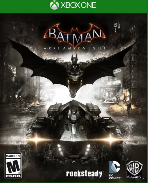 Xbox One Batman Arkham Knight USA Box Artwork M for Mature