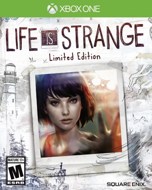 Xbox One Life Is Strange Limited Edition USA Box Artwork M for Mature