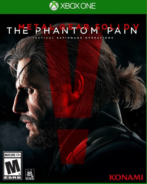 Xbox One Metal Gear Solid 5 USA Box Artwork M for Mature