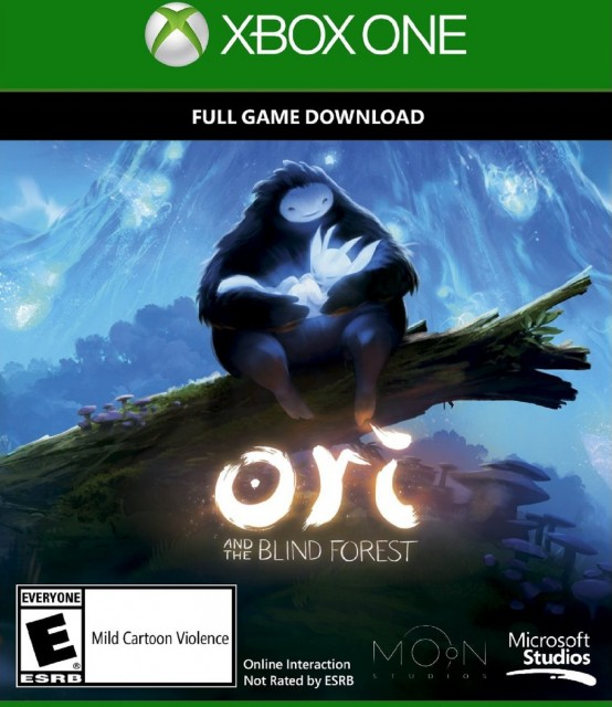 Xbox One Ori and the Blind Forest USA Box Artwork E for Everyone