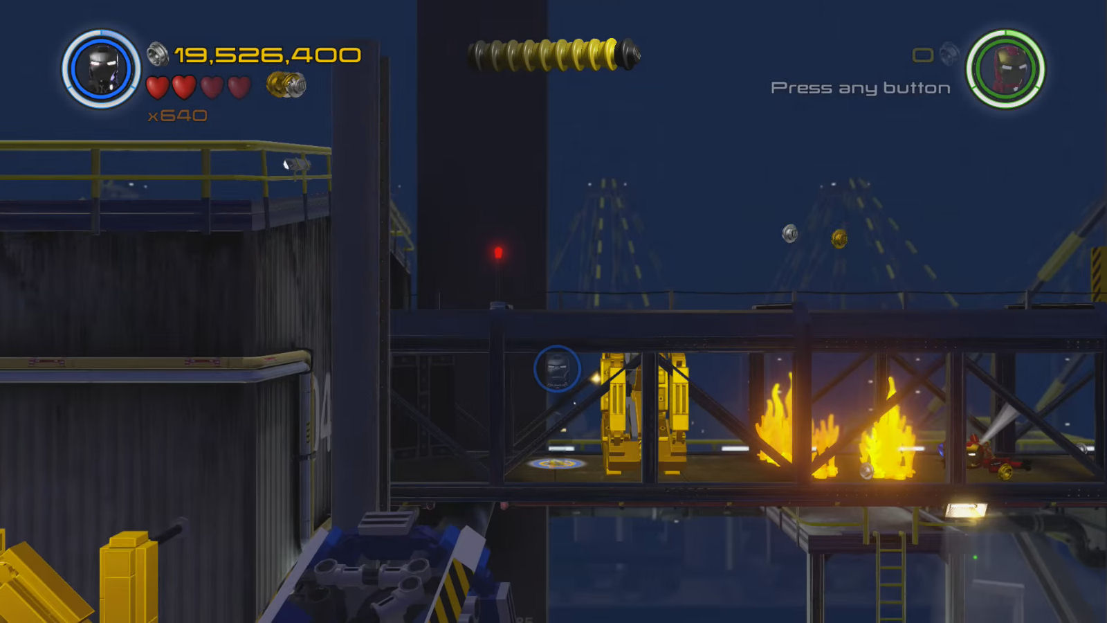 Lego Marvel's Avengers Red Brick 10: Gold Brick Detector Location