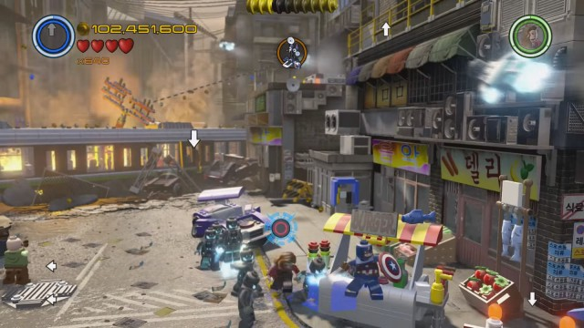 Lego Marvel's Avengers Red Brick 14: Fast Build Location