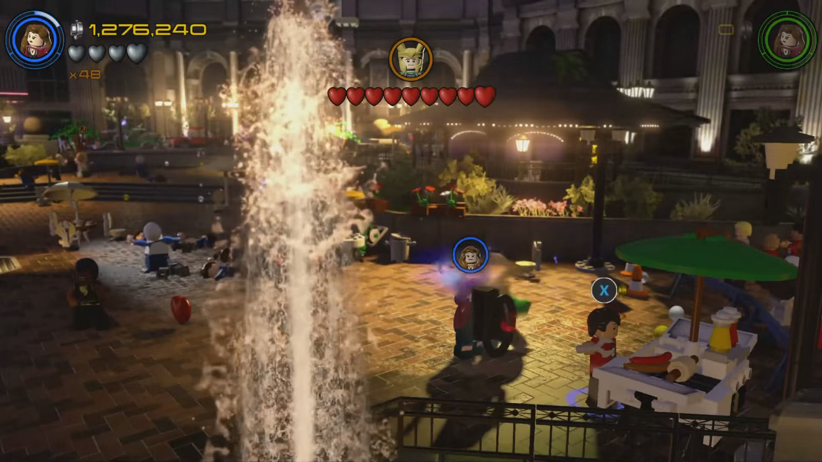 Lego Marvel's Avengers Red Brick 5: Studs x8 Location