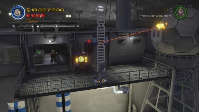 Lego Marvel's Avengers Red Brick 9: Character Token Detector Location