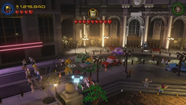 Lego Marvel's Avengers The Collector Hot Dog Location
