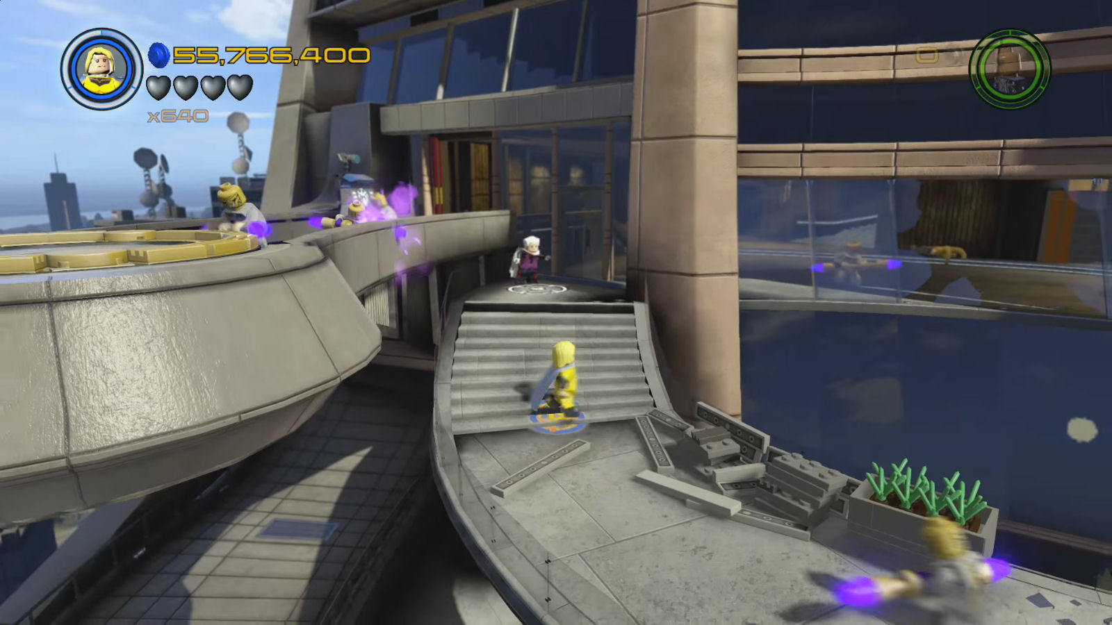 Lego Marvel's Avengers The Collector JARVIS Memory Drive Location