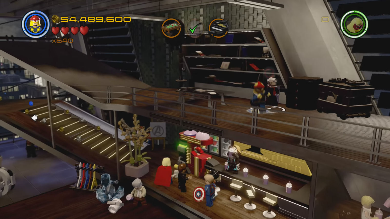Lego Marvel's Avengers The Collector Vinyl Record Location
