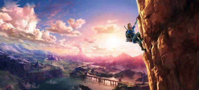 The Legend of Zelda: Breath of the Wild Wide Art