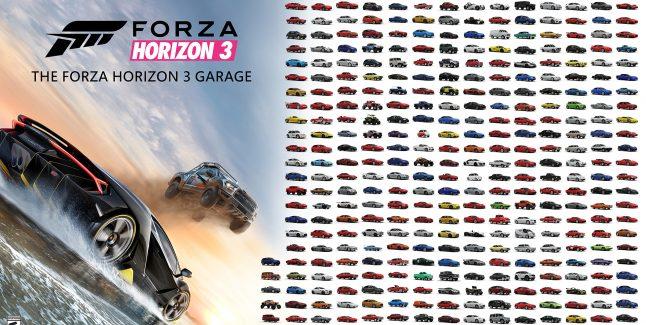 How To Unlock All Forza Horizon 3 Cars