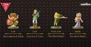 The Legend of Zelda amiibos