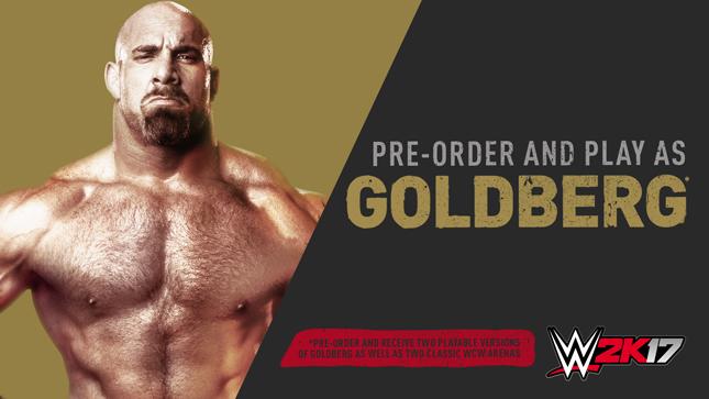 WWE 2K17 How To Get Goldberg