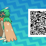 003 Pokemon Sun and Moon Decidueye QR Code