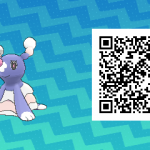 008 Pokemon Sun and Moon Shiny Brionne QR Code
