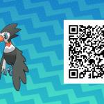 011 Pokemon Sun and Moon Trumbeak QR Code