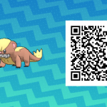 013 Pokemon Sun and Moon Yungoos QR Code