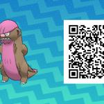 014 Pokemon Sun and Moon Shiny Gumshoos QR Code