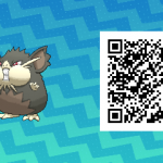 016 Pokemon Sun and Moon Alolan Raticate QR Code