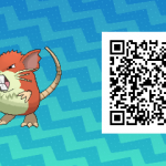 Pokemon Sun and Moon How To Get Shiny Male Raticate