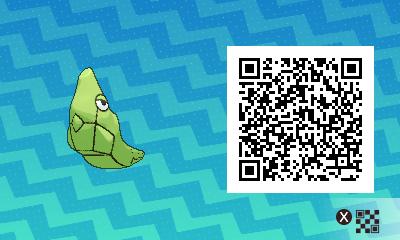 018 Pokemon Sun and Moon Metapod QR Code