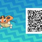 020 Pokemon Sun and Moon Female Ledyba QR Code