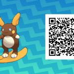 026 Pokemon Sun and Moon Shiny Alolan Raichu QR Code