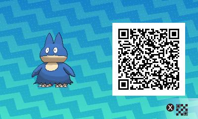 035 Pokemon Sun and Moon Shiny Munchlax QR Code