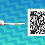 040 Pokemon Sun and Moon Shiny Wingull QR Code