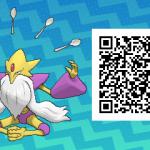 044 Pokemon Sun and Moon Shiny Mega Alakazam QR Code